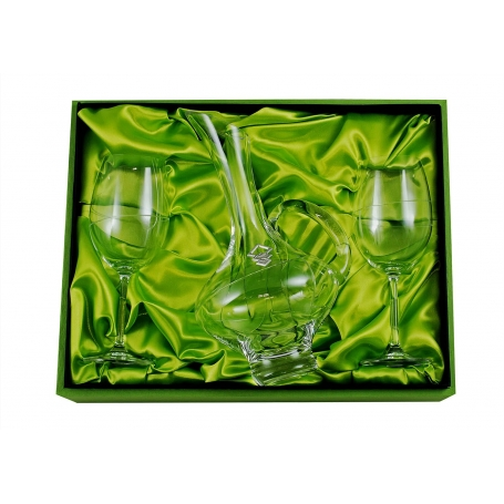Gastro wine set. 2 glasses and decanter 2610 (203 engraving)