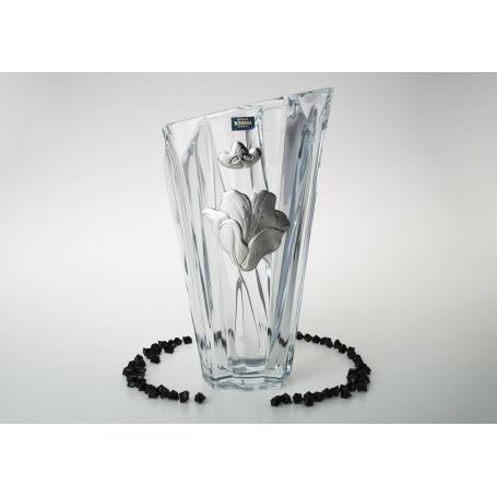 Bohemian glass Angle treassure Vase. Wedding/anniversay gift.