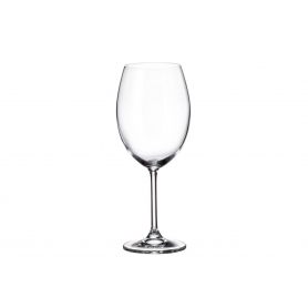 Bohemian Bordeaux glass Gastro