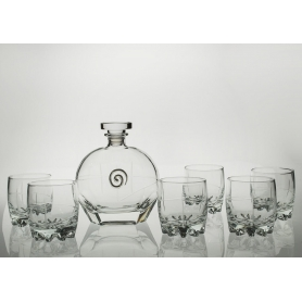 Juego de Whisky Sylvana 7 pz con botella Puccini (talla 203)