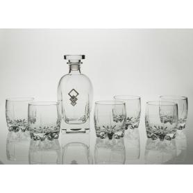 Juego de Whisky Sylvana 7 pz con botella Rossini (talla 203)