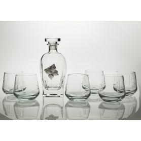 Juego de Whisky Alma 7 pz con botella Rossini (talla 203)
