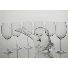 Juego de vino Gastro, 6 copas con decantadora 2610 (sin talla))