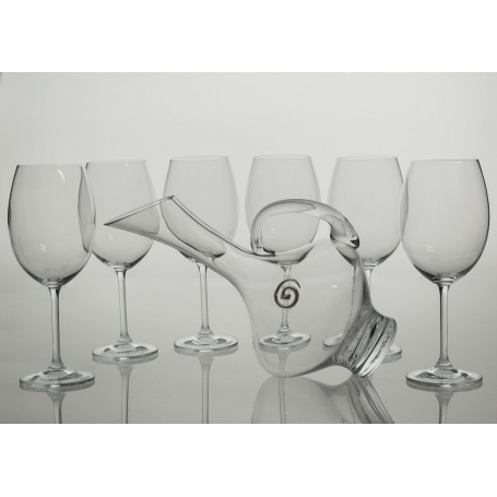 Gastro 590 wine set. 6 glasses and decanter 2610