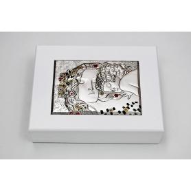 Cofre de madera blanco Maternidad