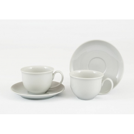 Moments coffe cup and saucer. White collection.