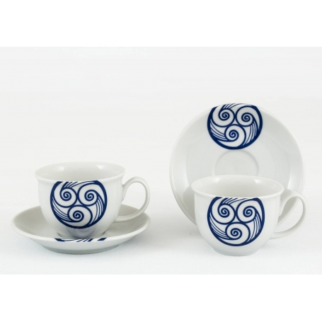 Moments coffe cup and saucer. Lua collection.