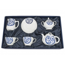 Five-piece breakfast set. Volare design, Lua collection.
