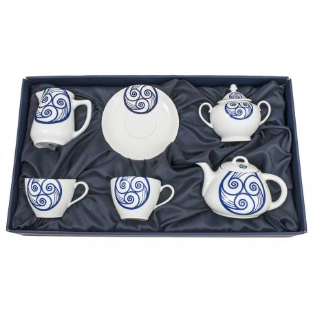 Five-piece breakfast set. Volare design, Lua collection.