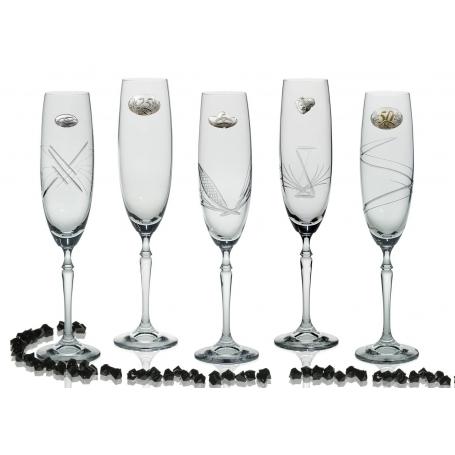 Copas Champán Barbelina para boda o aniversario