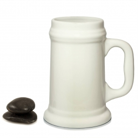 Beer Jar. White collection.