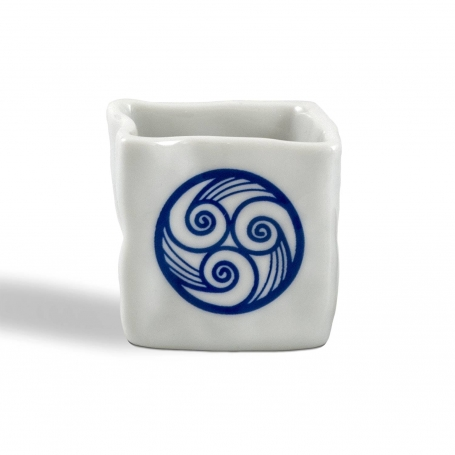 Piedra porcelain shot. Lua collection.