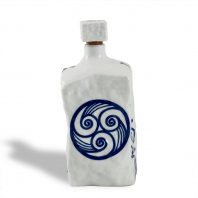 Botella Piedra col. Lúa
