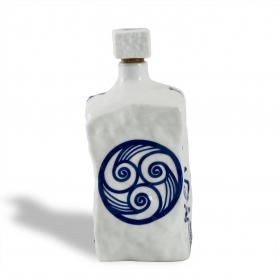 Porcelain liquor bottle Piedra. Lua collection.