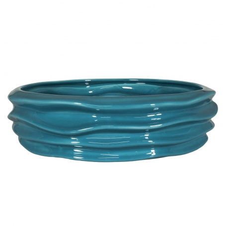 Waves centrepiece 899 turquoise