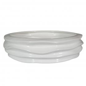 Waves centrepiece 899 white