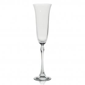 Bohemian champagne flute glass Fuchsia 200