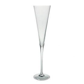 Bohemian champagne flute glass Radu 180