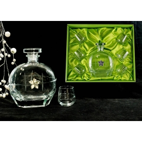 Liquor set. Puccini bottle and Alma shot glass (203)