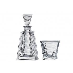 Casablanca Whisky set. Bohemian glass