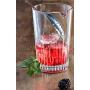 Juego 6 vasos y jarra especial gin tonic mixology premium plata