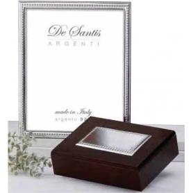 Portafoto de Plata Biliaminada de caña relieve, De DSAsilver