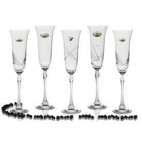 Copas Champán Fuchsia para boda aniversarios