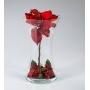 Florero Navidad Rojo 570