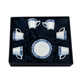 Six-piece, Volare coffee set. Celta collection.