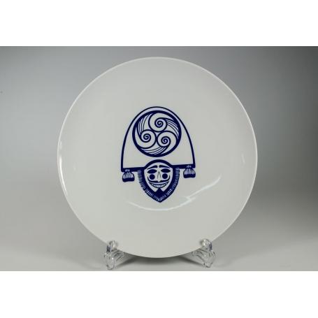 Plato redondo Porcelana para pizza mod Cigarron ø 33 cm