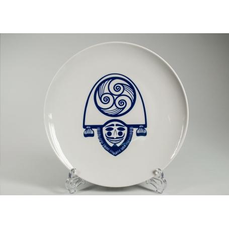 Plato redondo Porcelana para Tortilla Cigarron ø 28,5 cm