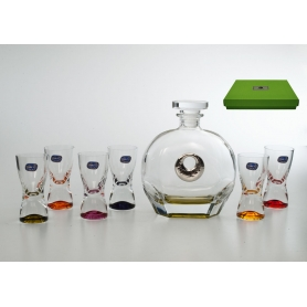 Juego licor chupitos samba Puccini Cerchio SET