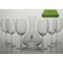 Copas de vino y decantador modelo Gastro Rombo  SET