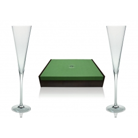 Radu champagne flutes for wedding or anniversary gift