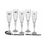 Elisabeth champagne flutes for wedding/anniversary gift