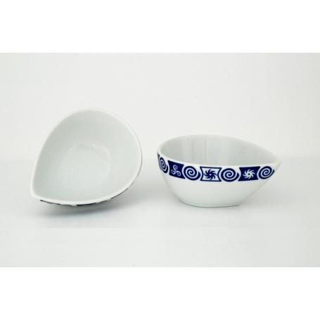 Cuenco aperitivos porcelana Gotas Celta (10 cm)