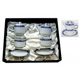 Two-cup and teapot set. Celta collection.