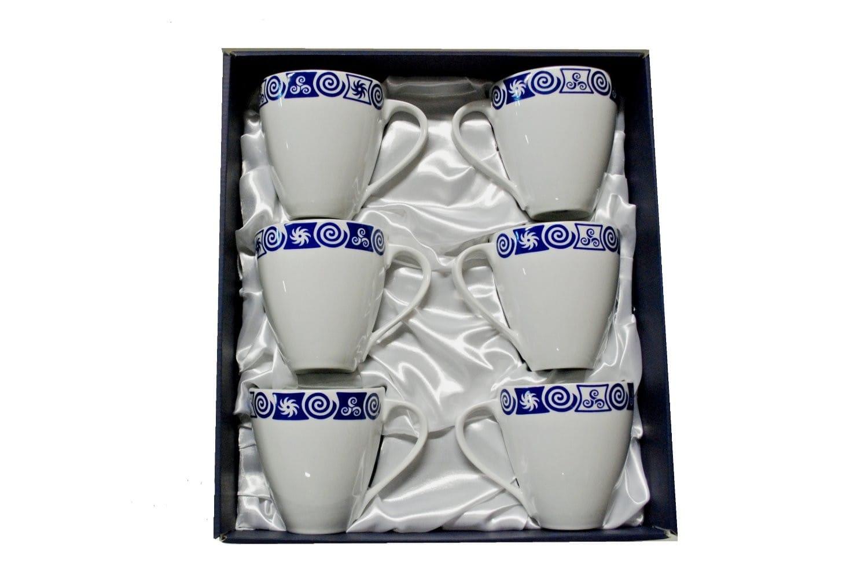 Set de 6 tazas mug Volare col. Celta