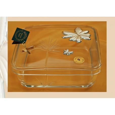 Flirt candy box with engraving (Butterfly)