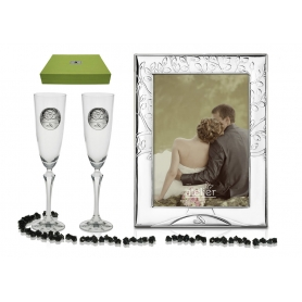 Elisabeth flutes and photo frame tree of life collection