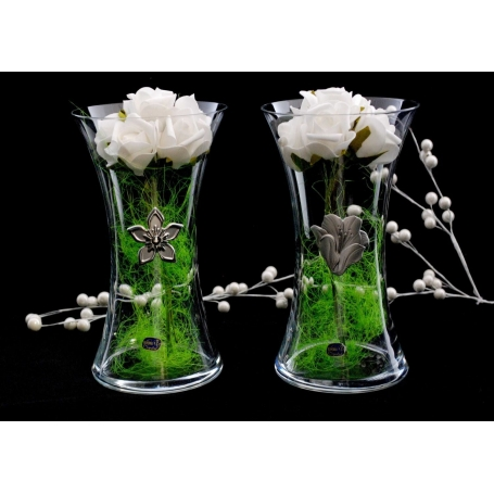 Bohemian glass Vase 82570