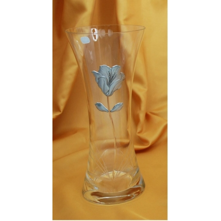 Bohemian glass Primavera 570 vase (C1 engraving)
