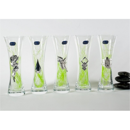 Small Bohemian glass vase 82570