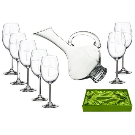 Juego de vino Gastro 590, 6 copas con decantadora 2610 T 203 sin aplicacion Set