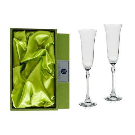Copas Champán Fuchsia para boda o aniversario