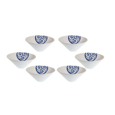 Triangular snack bowl. Celta collection.
