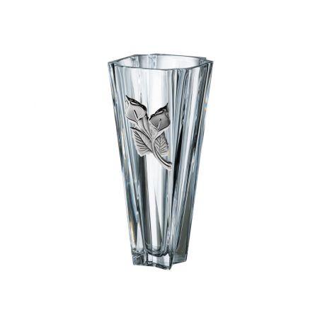 Florero cristal Bohemia metropolitan  30 cm de altura cala