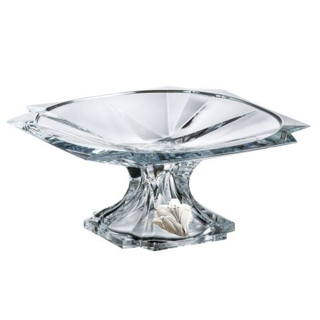 Metropolitan footed centrepiece. Bohemian Glass