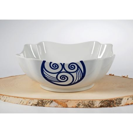 Triangular snack bowl. Celta collection.