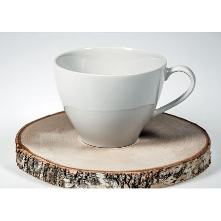 taza de desayuno volare sin plato blanco